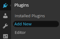add plugins Wordpress